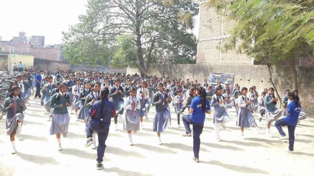 aparajita self defence camp sharddha junior high school varanasi