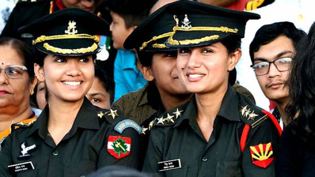 Women officer In Indian Army