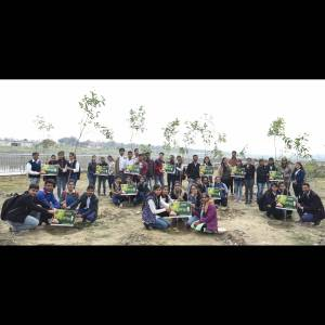 aparajita awareness and plantation event lucknow